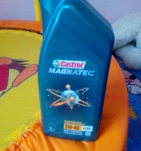 Моторное масло Castrol Magnatec 5W40 1л