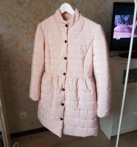 Куртка розовая зефирка