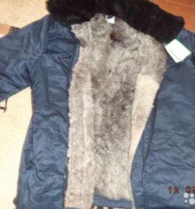 Зимний костюм на натуральном меху.