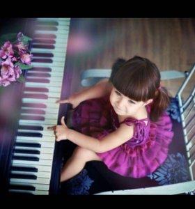 Обучение игре на фортепиано. Основы муз. грамоты