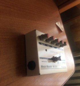 Педалька для электрогитары