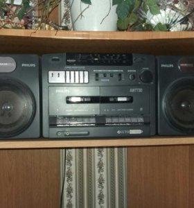 Музыкальный центр(кассетный)