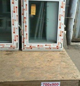 Окна ПВХ 70 х 90 см