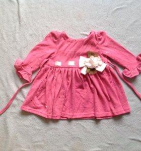 трикотажное платье р.68