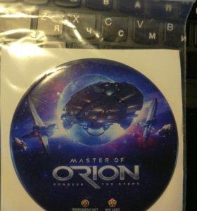 Наклейка master of orion