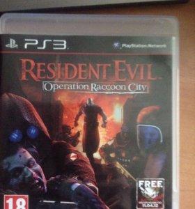 Resident Evil Operation Raccoon city для PS3