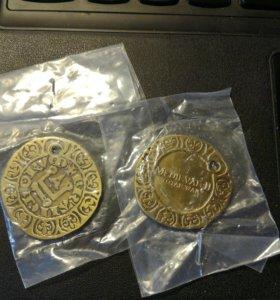 Монета - брелок medieval2