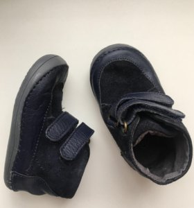 Кожаные пинетки/ботиночки 18р
