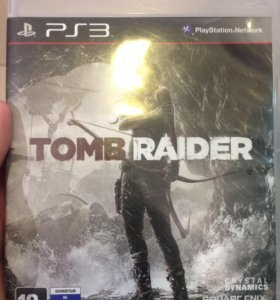 Игра на PS3 tomb raider