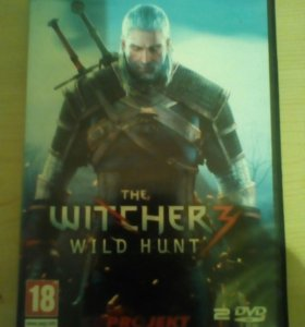 Продам THE WITCHER 3 дикая охота