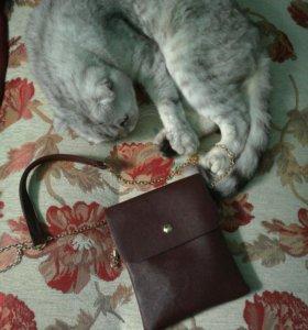 Стильная маленькая наплечная сумка