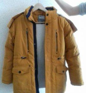 Куртка зимняя подростковая для мальчика
