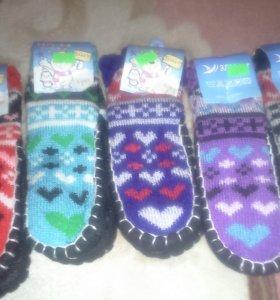 детские носочки с тормозами новые