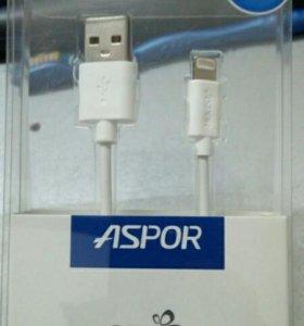 Кабель USB на iphone 5, 6, 7, iPad, iPod