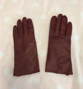 Перчатки натуральная кожа MOTT новые