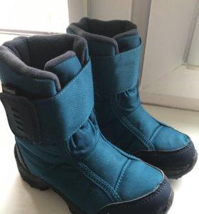 Новые ботинки мембранные
