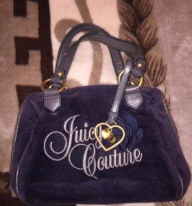 Сумка бархат Juicy Couture