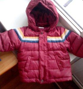 Куртка 3-6 м. Benetton.