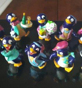 Киндеры 90-х пингвины
