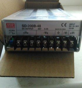 Блок питания sd-200b-48
