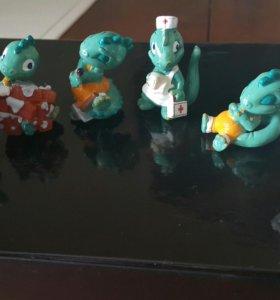 Киндеры 90-х дракончики