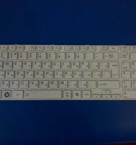 Клавиатура с ноутбука Toshiba satelline l850 - b2w
