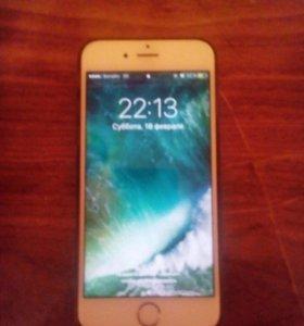 Айфон 6, голд на 16 обмен