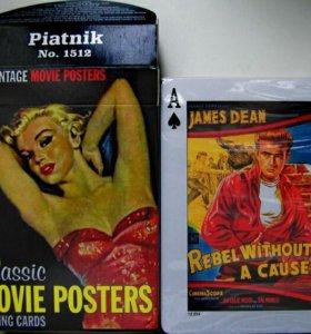 Игровые карты с постерами из кинофильмов