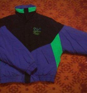Винтажная ретро куртка-мастерка