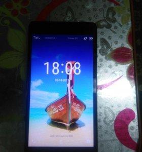 Продам почти новый телефон леново а6010