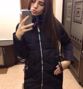 Куртка чёрная демисезонная