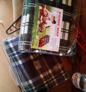 Коврик-плед для пикника и дома