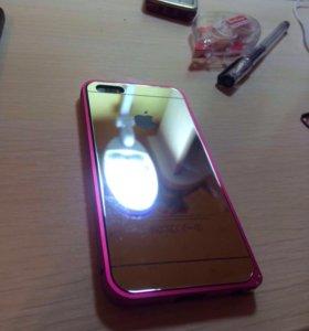 Защитные стекла для iphone 4,5,6,+ разные цвета