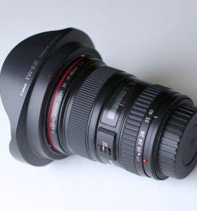 Объектив Canon EF 17-40 mm f/4L USM