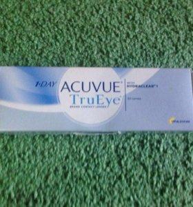 Линзы 1-Day acuvue