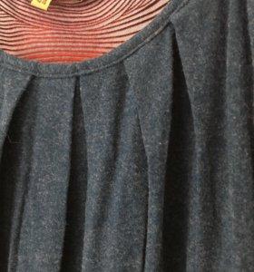 Платье шерстяное новое