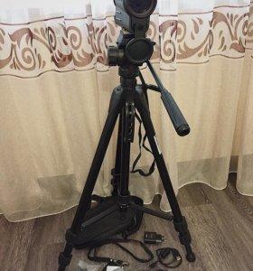 Фотоаппарат Olympus Штатив Подзорная Труба