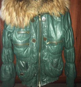 Зимняя кожаная куртка Armado Diaz