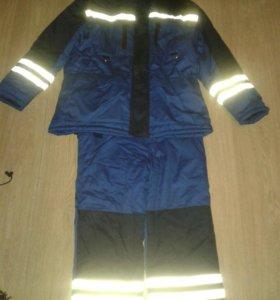 Рабочий зимний костюм
