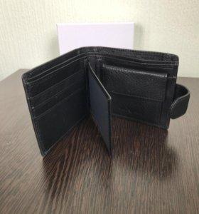 Кошелёк портмоне Armani натуральная кожа
