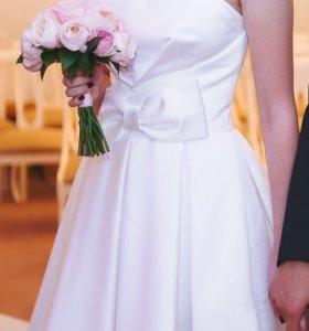 Короткое свадебное/вечернее/выпускное платье