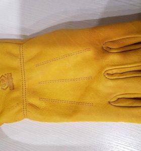 """Кожаные перчатки """"Восточные тигры"""""""
