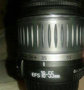 Объектив canon efs 18-55 mm