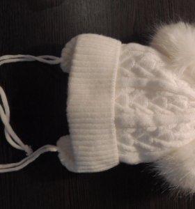 Шапочка зимняя детская