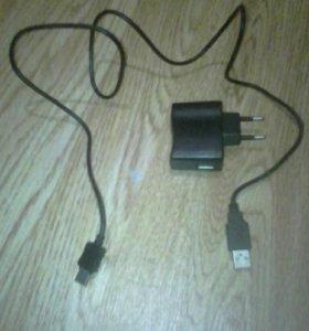 Зарядные SAMSUNG, TEXET, NOKIA и USB прововода.