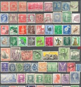 Подборка старых марок мира