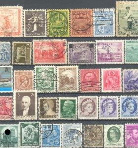 Подборка почтовых марок