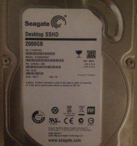 SSHD Seagate 2tb