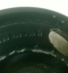 Шкив двигателя skoda fabia 1,2