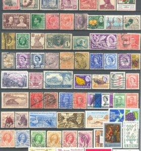 Подборка марок на тему Колонии